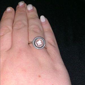 Pandora Pink CZ ring